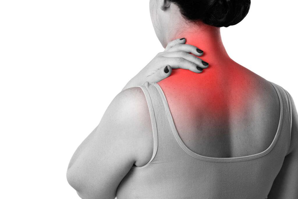 causa de dor no pescoço
